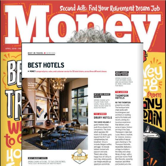 Money Magazine Press Clip on Thompson Hotels
