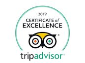 2018 Certificate Of Excellence from TripAdvisor