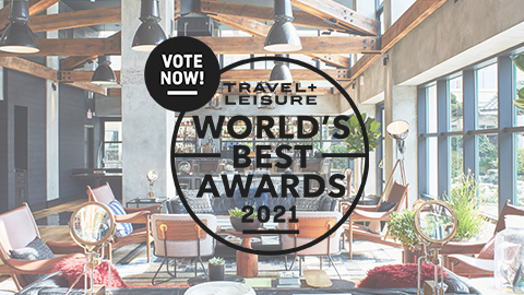 Travel + Leisure World's Best Vote Logo