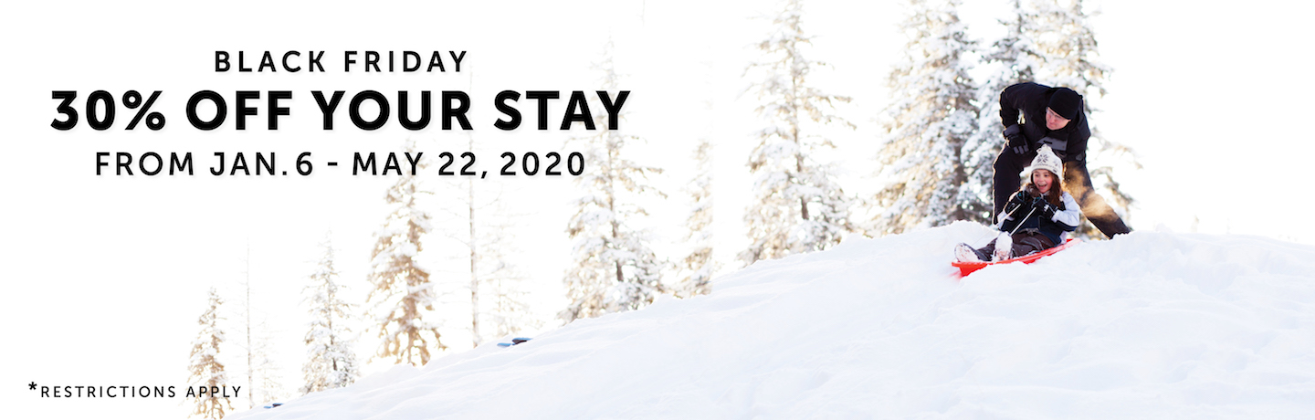 Black Friday Save 30% Off Your Stay