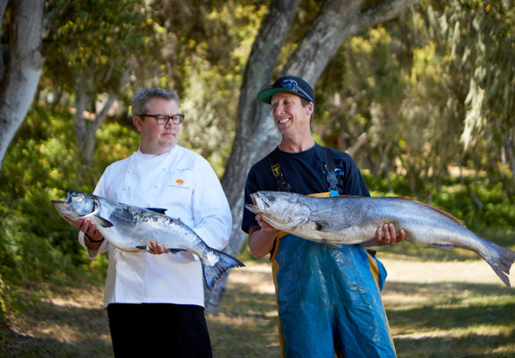 Carmel Valley Ranch_Artisan_Chef Tim Wood and Jerry_fish envy_N5I3025_GJ