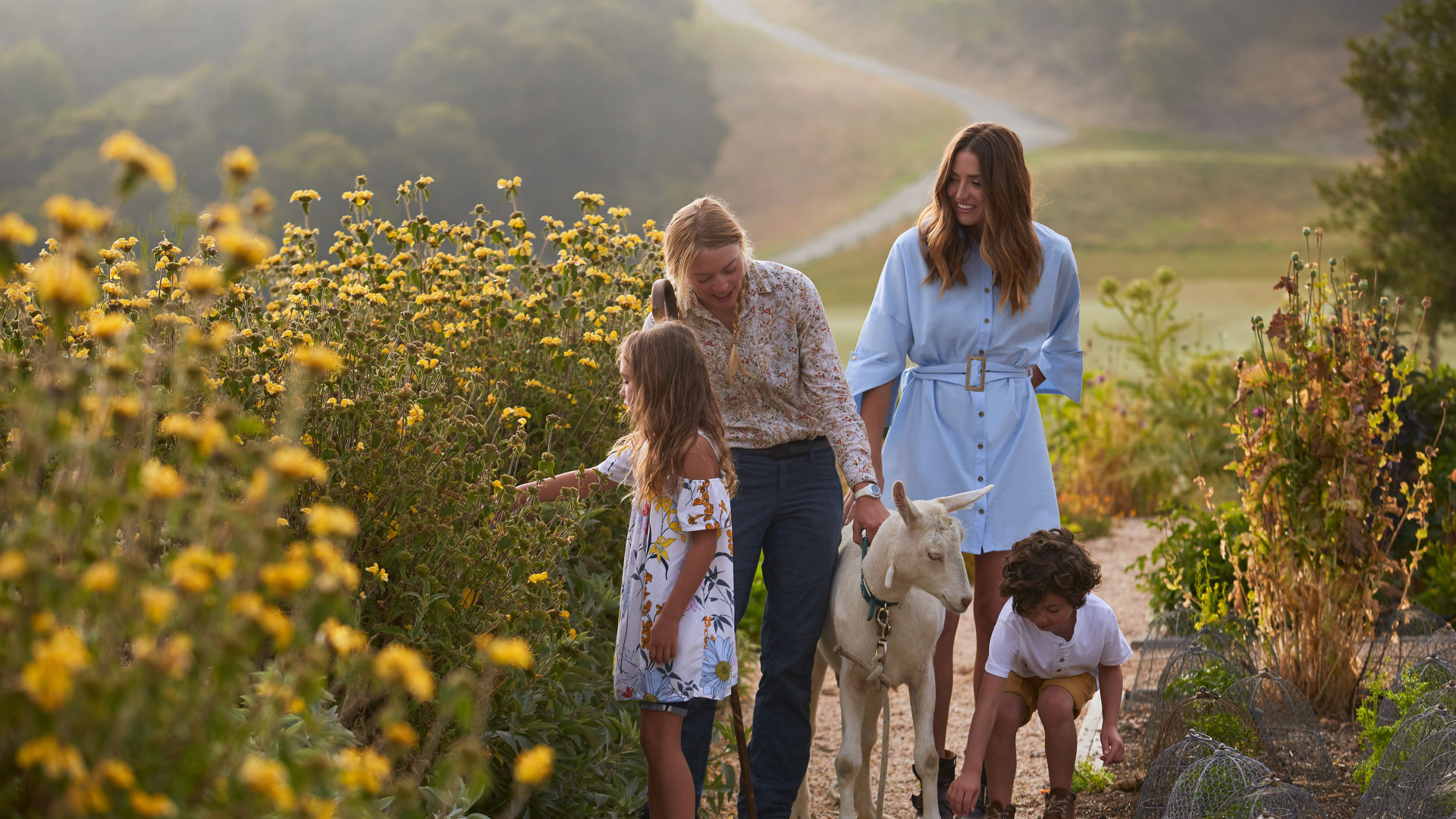 Carmel Valley Ranch_Lifestyle_Organic Garden_Goat Walk_GJ_1234 2_v1_current