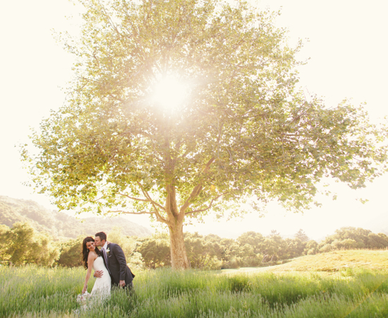 Carmel Valley Ranch_Weddings_couple in lavender by oaktree sunburst