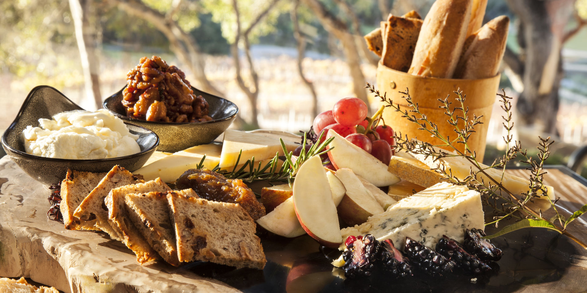 Carmel Valley Ranch_Dining_Cheese Platter_Board_BM