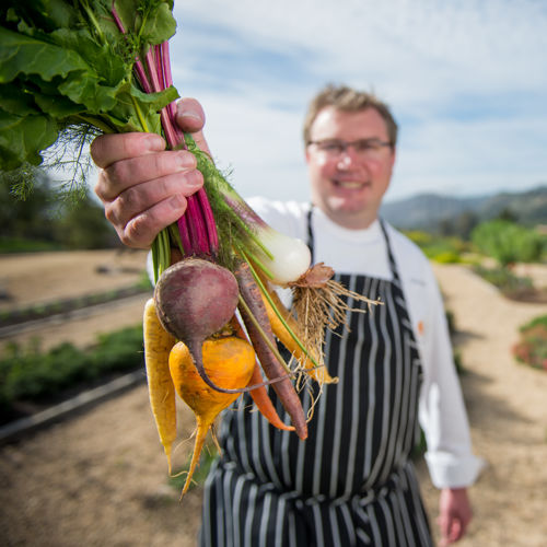 Carmel Valley Ranch_Dining_Chef Tim Wood_dig in