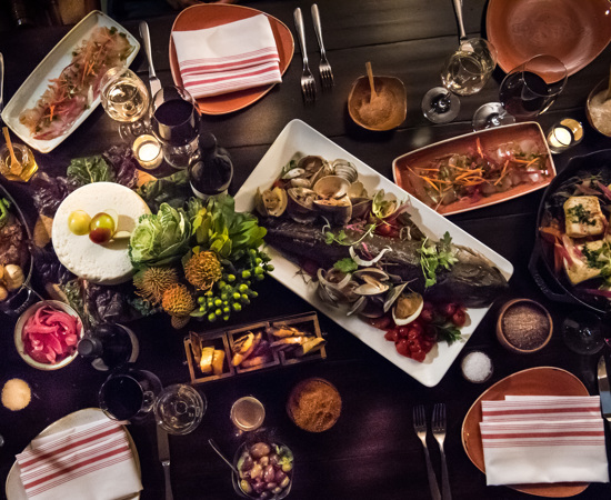 Carmel Valley Ranch_Dining_Food_Artisan Food Image Overhead