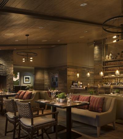 Carmel Valley Ranch_Dining_Valley Kitchen_restaurant_evening