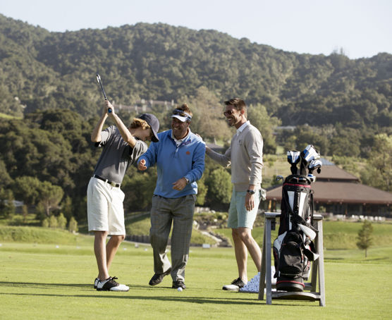 Carmel Valley Ranch_Golf_guys on course having fun