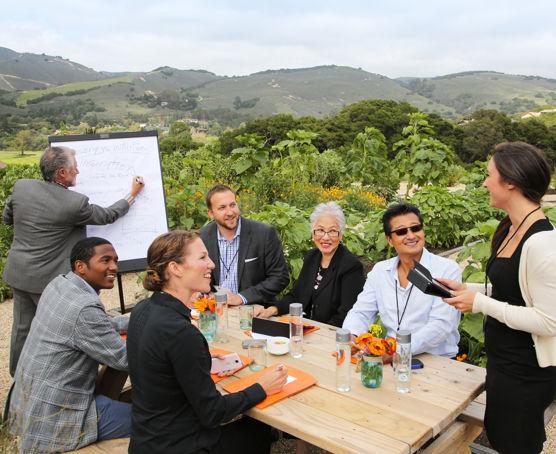 Carmel Valley Ranch_Meeting Organic Garden_Tom Oneal