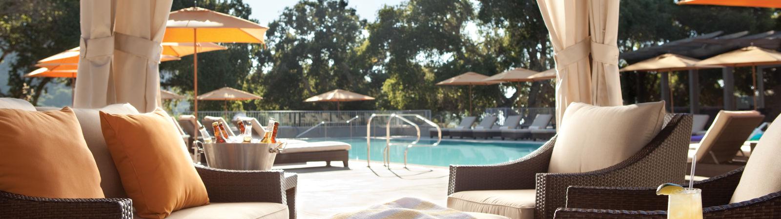 Carmel Valley Ranch_Property_Pool_Cabanas at lodge