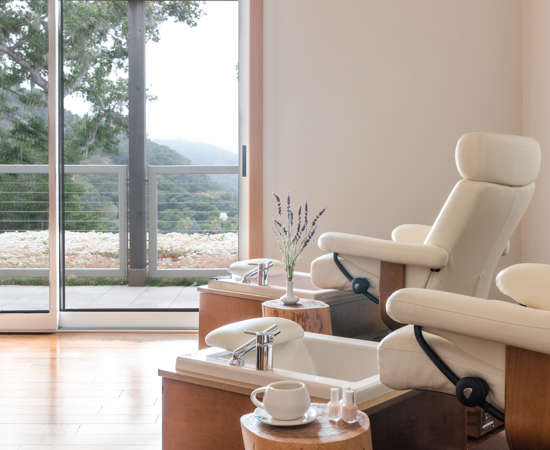 Carmel Valley Ranch_Spa Aiyana_interior_nail salon_2_SRusso
