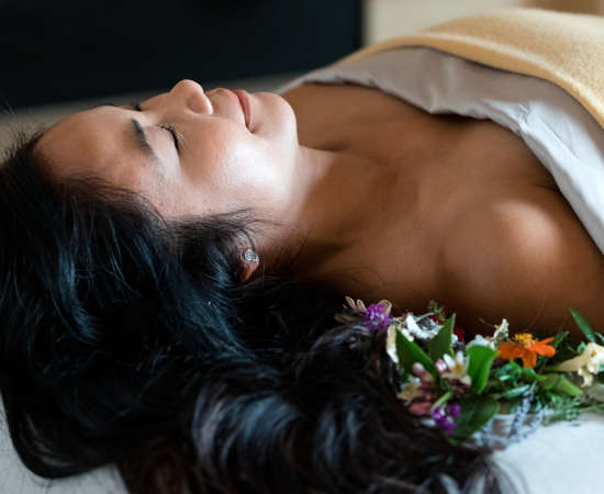 Carmel Valley Ranch_Spa Aiyana_Lifestyle_female flowerbed_18_SRusso