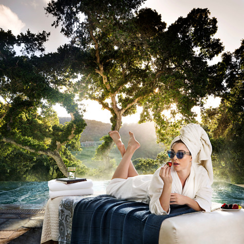 Carmel Valley Ranch_Spa_spa queen at infinity pool