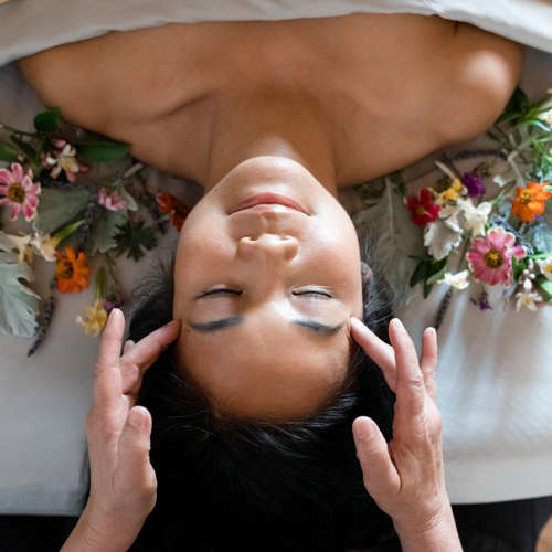 Carmel Valley Ranch_Spa Aiyana_Lifestyle_female flowerbed_massage_20_SRusso