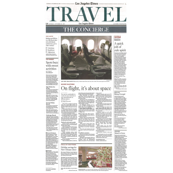 LOS ANGELES TIMES - OCTOBER 29, 2017