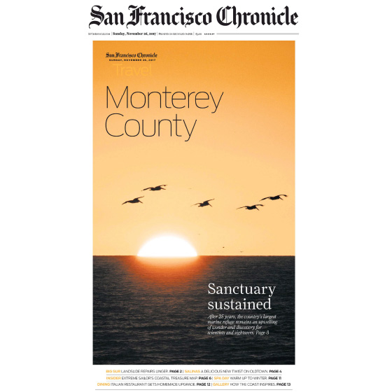 SF CHRONICLE - NOVEMBER 2017