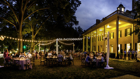Evening Event Outdoor Dining