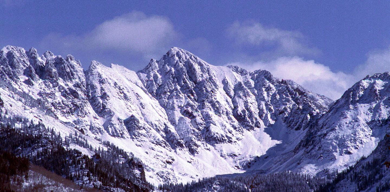 Gore Range in the Winter