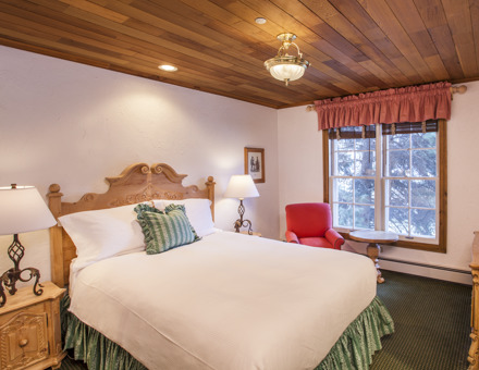 Double Bedroom at Lodge