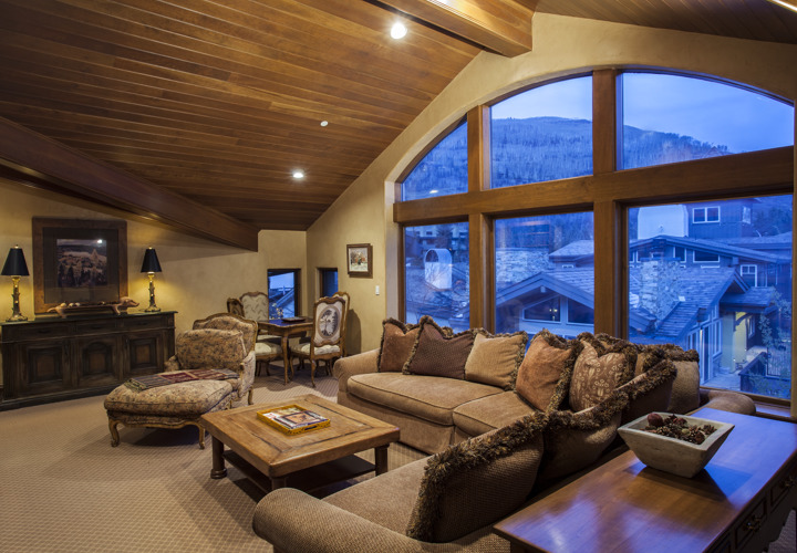 Living Room at Vacation Residence