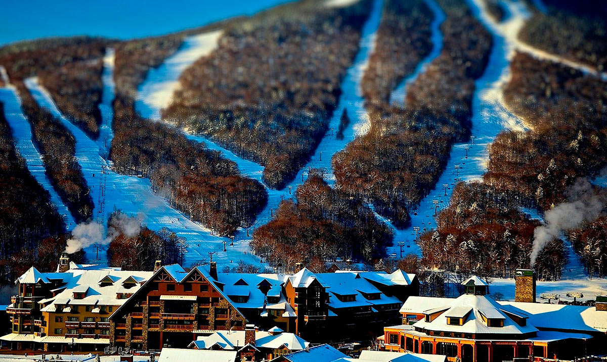 Winter at Stowe Mountain Lodge