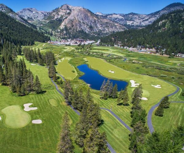 Resort at Squaw Creek_Exterior_Aerial View Ski Lift