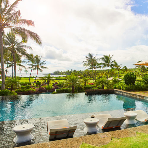 kauai resort swimming pool