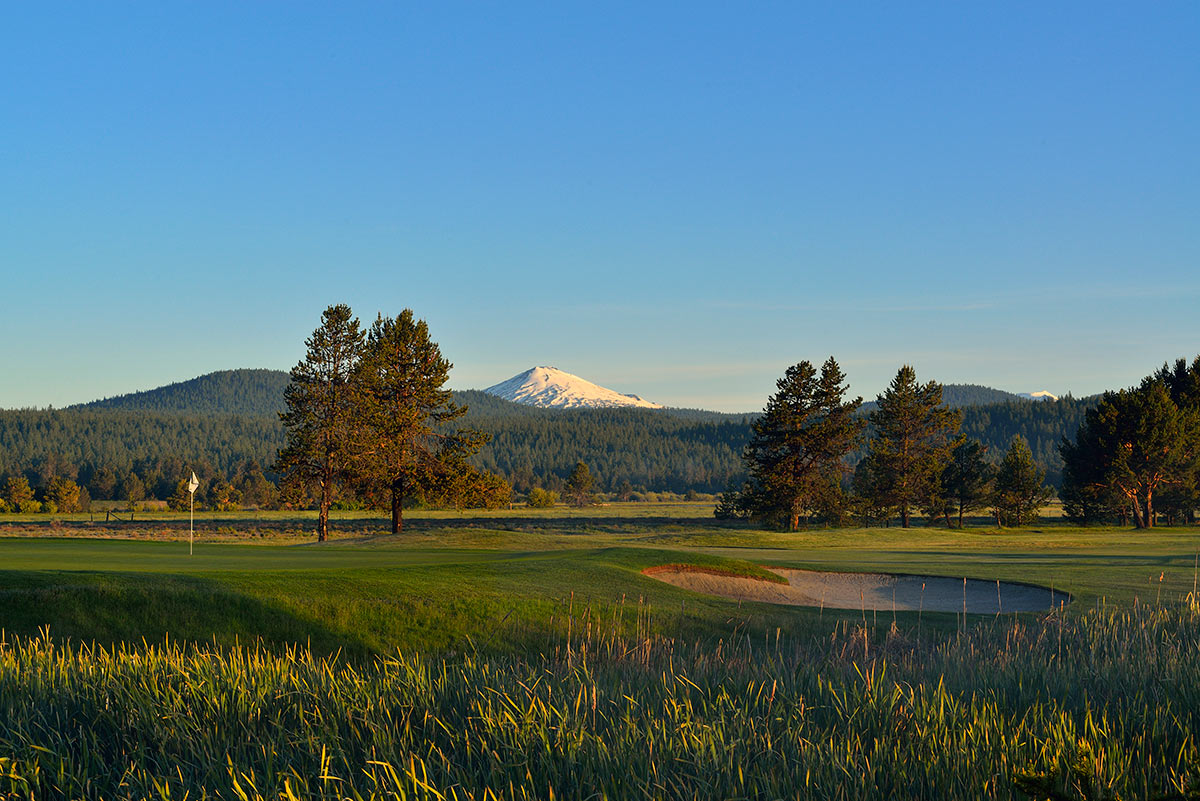 Sunriver Golf Meadows Hole 18