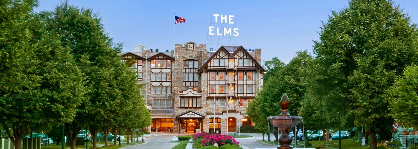 Elms_Front Drive W Fountain_North View