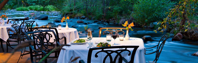 L'Auberge de Sedona_Dining_Cress_Creekside Dining 3