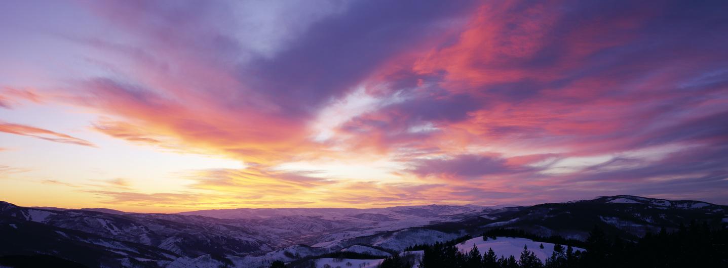 Vail Activities Winter Alpenglow