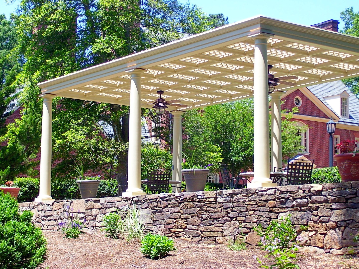 Pergola and DuBose House
