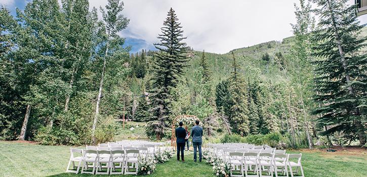 wedding venue Gore Creek Garden