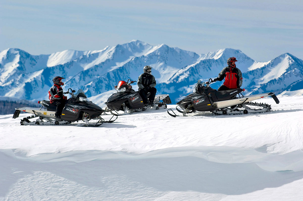 Vail Winter Recreation - Snowmobiling