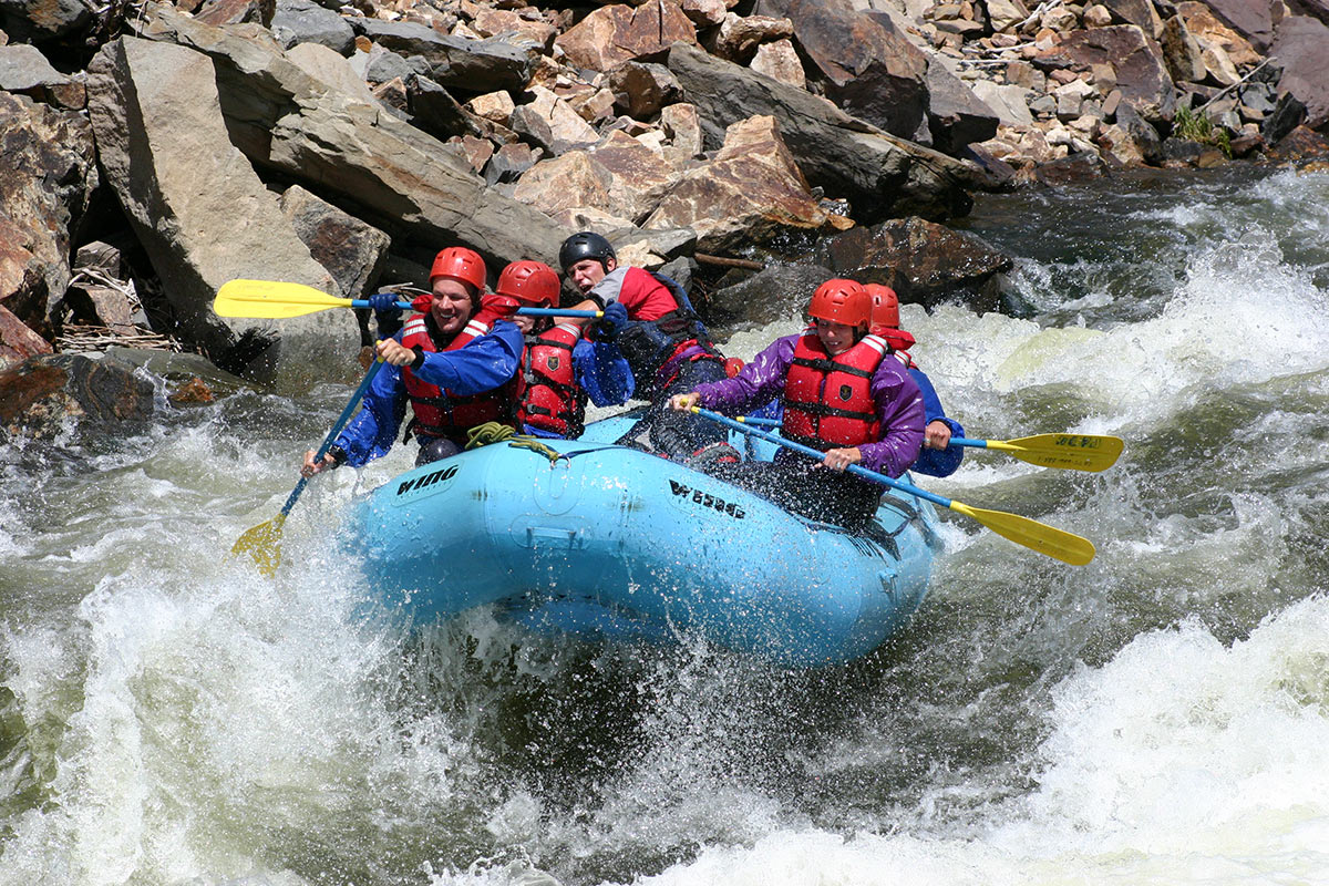 Vail Summer Recreation - Whitewater Rafting