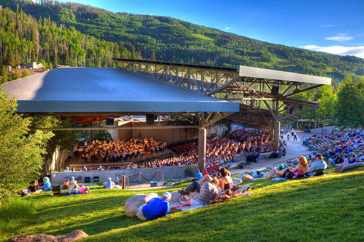 Summer concerts in Vail