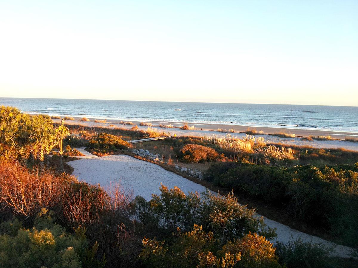 Seaside Point overlooking the Atlantic Ocean