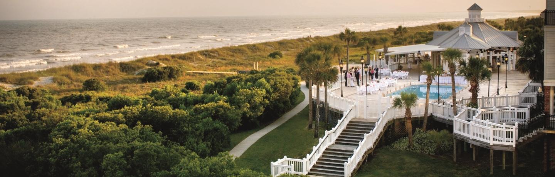 wild dunes grand pavilion twilight shot