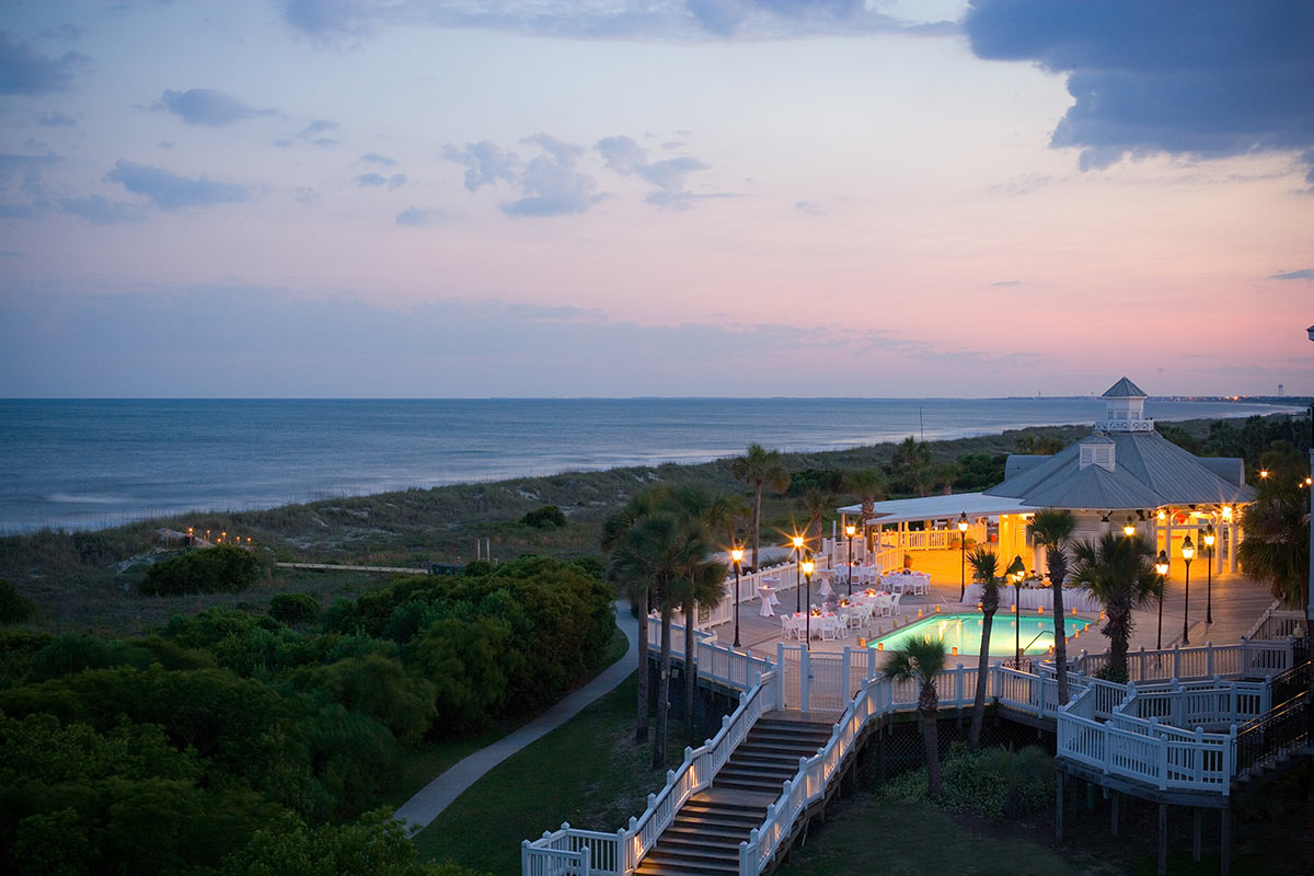 The Oceanfront Grand Pavilion and pools