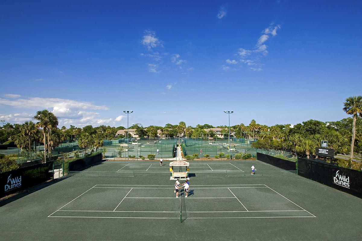 Tennis at Wild Dunes