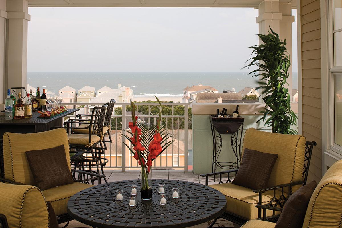 Village Penthouse Balcony