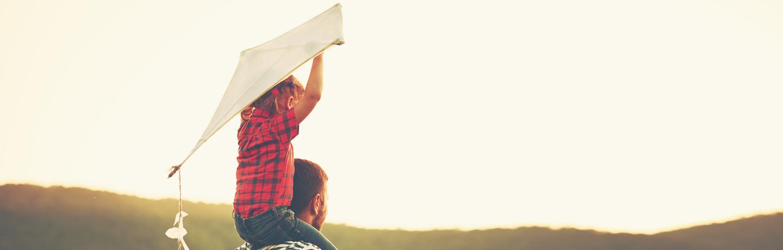Summer_Campaign_Boy on Dad Shoulders