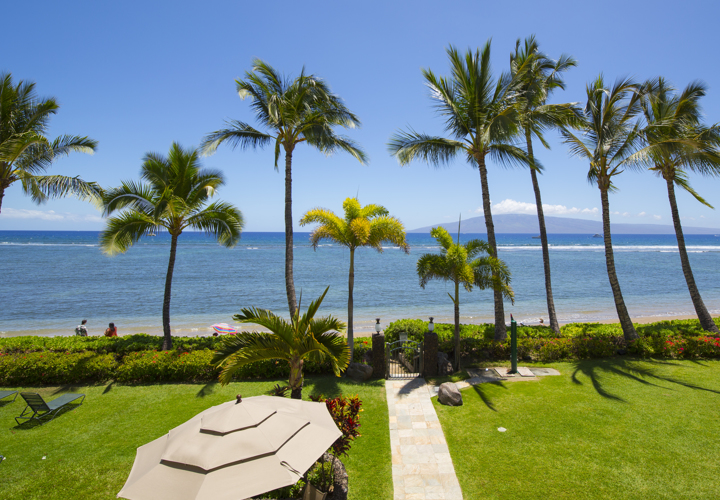 Lahaina Shores-view from Unit215