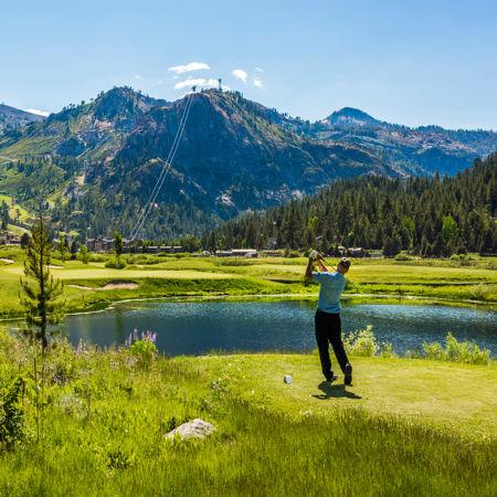 Resort at Squaw Creek_Golf_Golfer