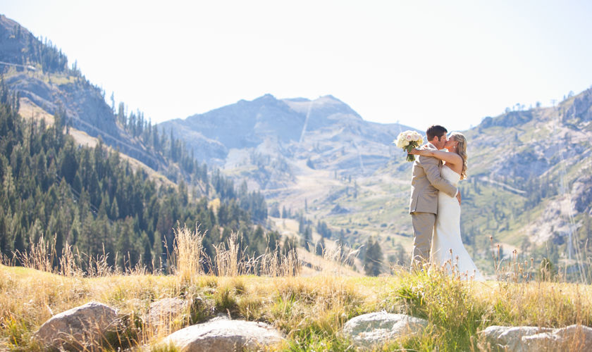 Resort at Squaw Creek_Wedding_Mountain Bride and Groom