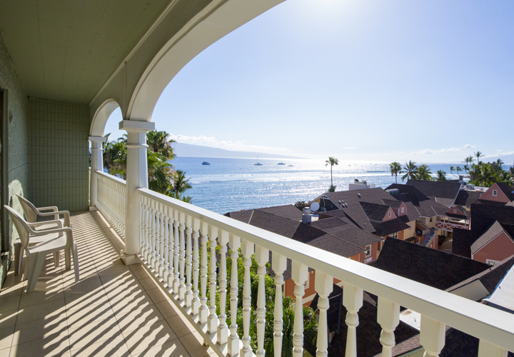 Lahaina Shores-view from Unit 634