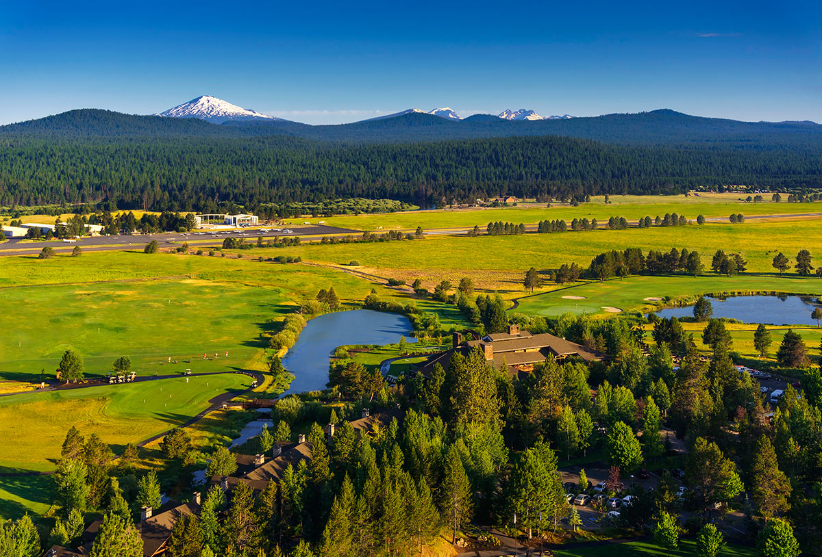 Sunriver Resort Aerial View