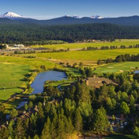 Sunriver Resort_property_aerial view