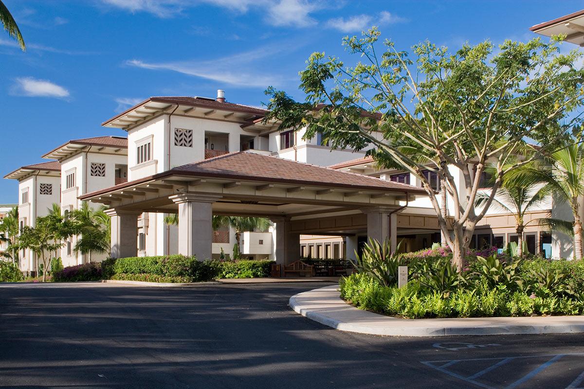 Wailea Beach Villas front entrance