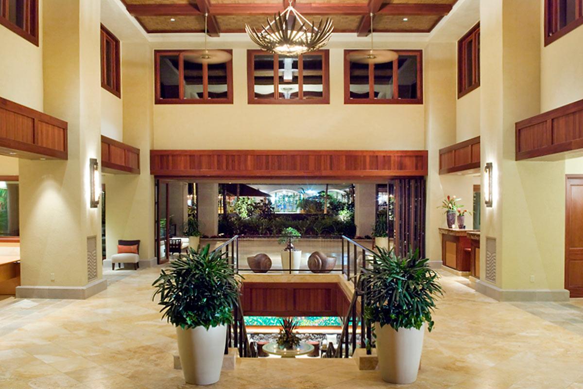 Wailea Beach Villas lobby